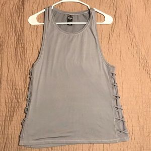 Grey Victoria's Secret Sport tank top